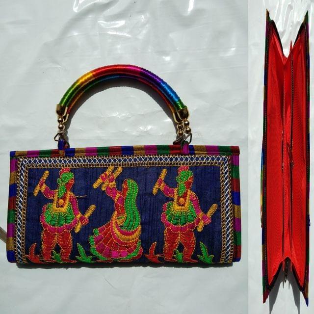 Awesome handwork clutch , originally originated from Kutch