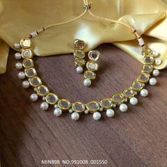 High quality Kundan Necklaces with Precious Stones