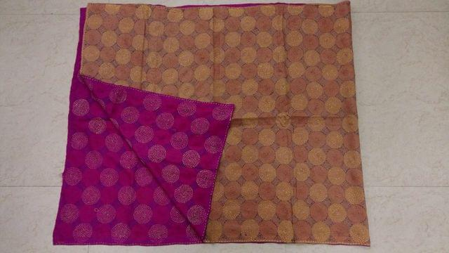 Katha Work Reversible Stole/Dupatta for perfect you. Designed with perfection, and is purely hand-worked