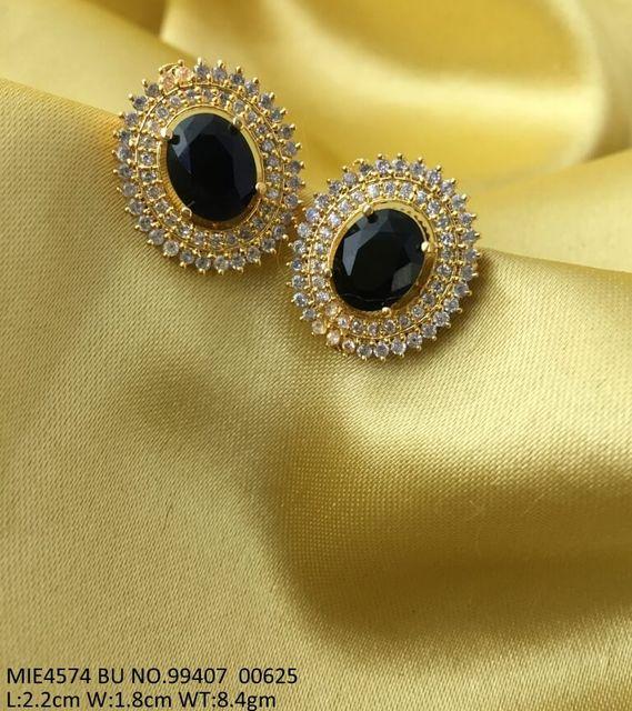 Brass Metal + Gold plated +American Diamond Pendants