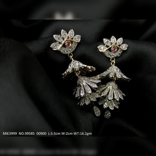 Brass earring/Jhumka with an year warranty