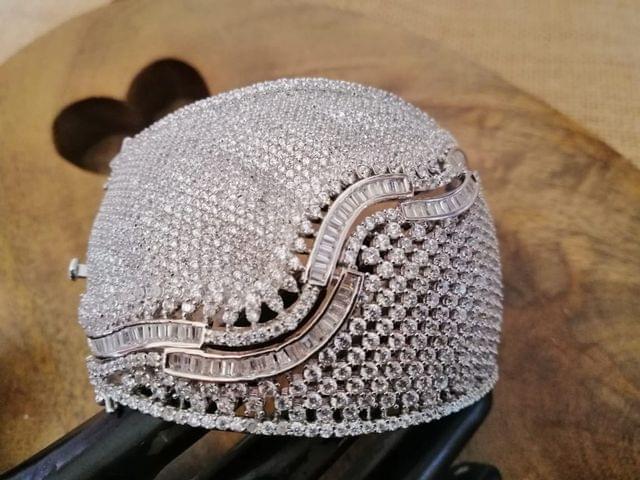 American Diamond Kada . 1 year warranty