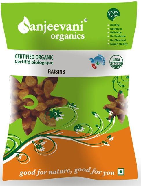 Organic Raisins 200 Gms