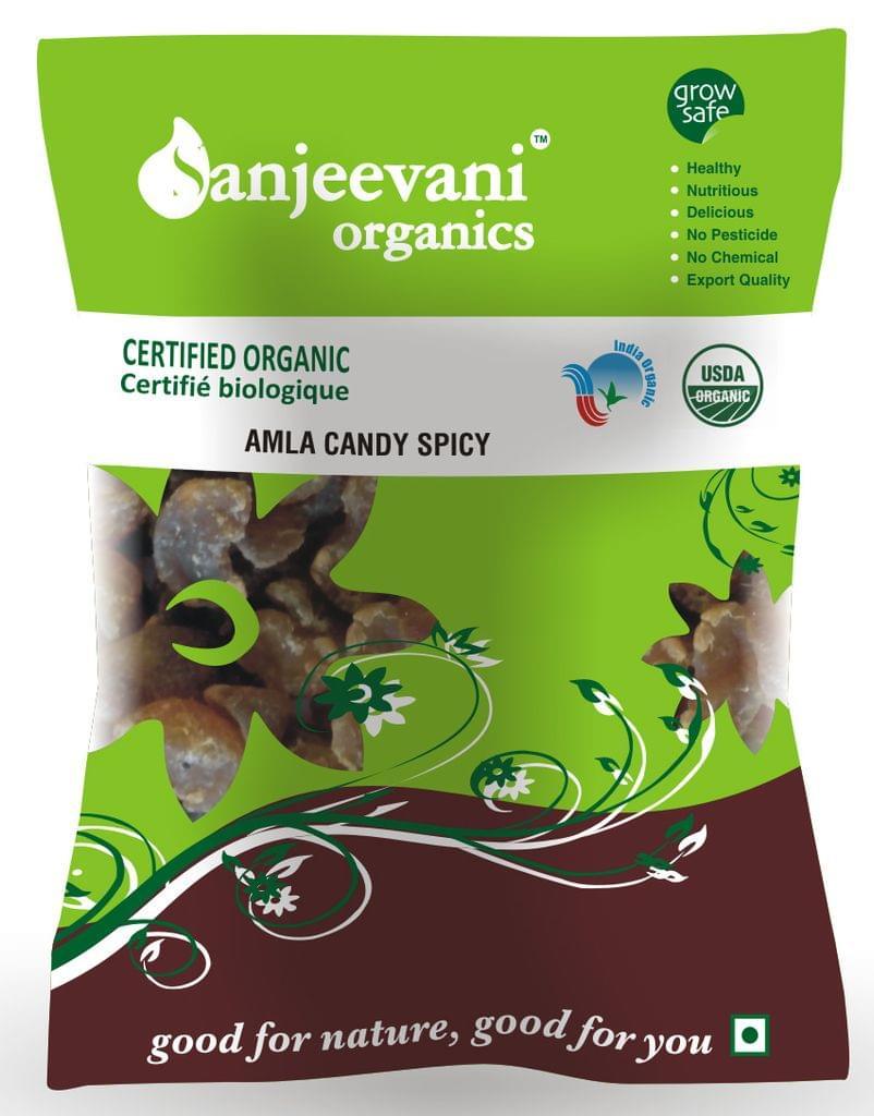 Organic Amla Candy Spicy 200 Gms