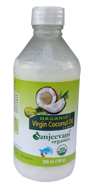 Organic Coconut oil  200 Gms