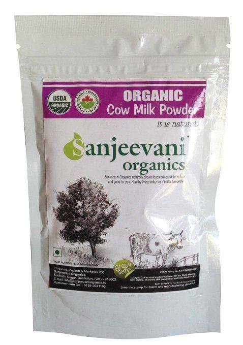Organic Skimmed Cow Milk Powder 100 Gms
