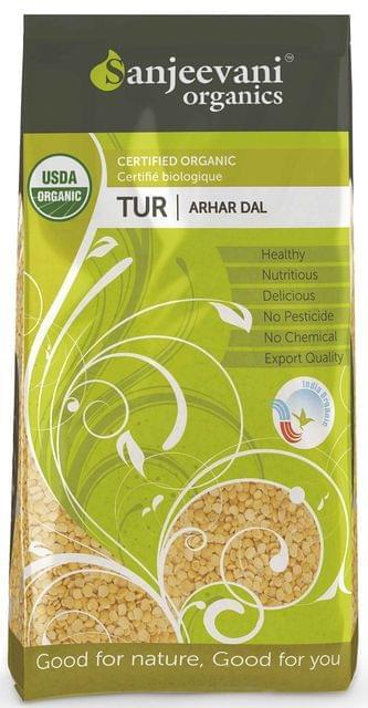 Organic Arhar Dal 1000 Gms