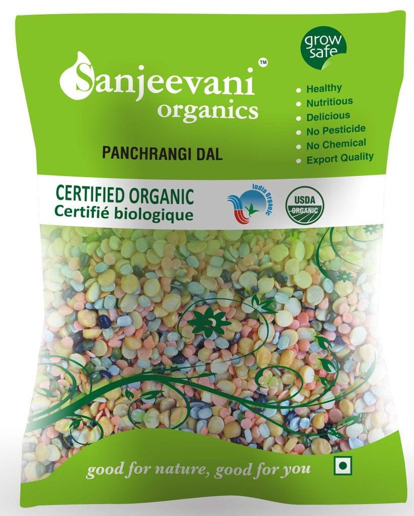 Organic Panchrangi Dal  1000 Gms