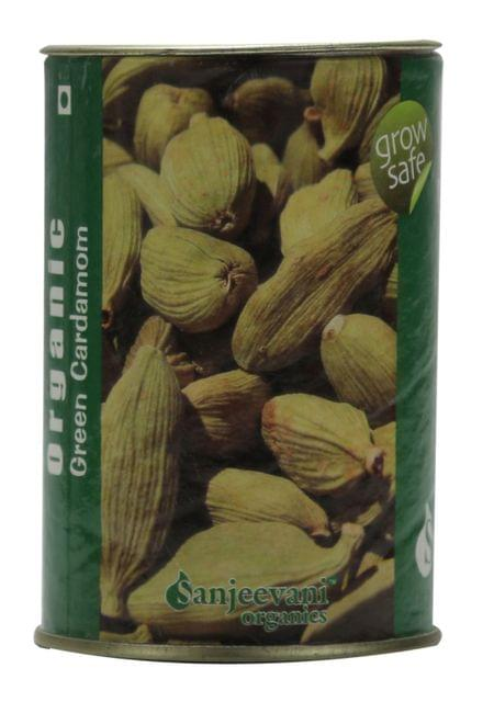 Organic Cardamom Green Whole 50 Gms