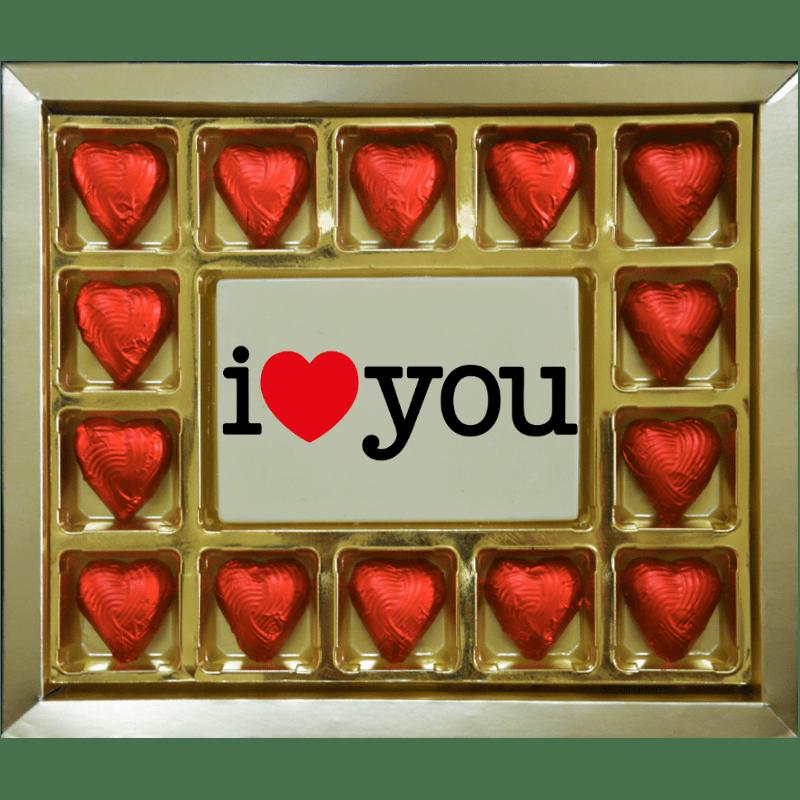 Valentine Gift - I Love You Large