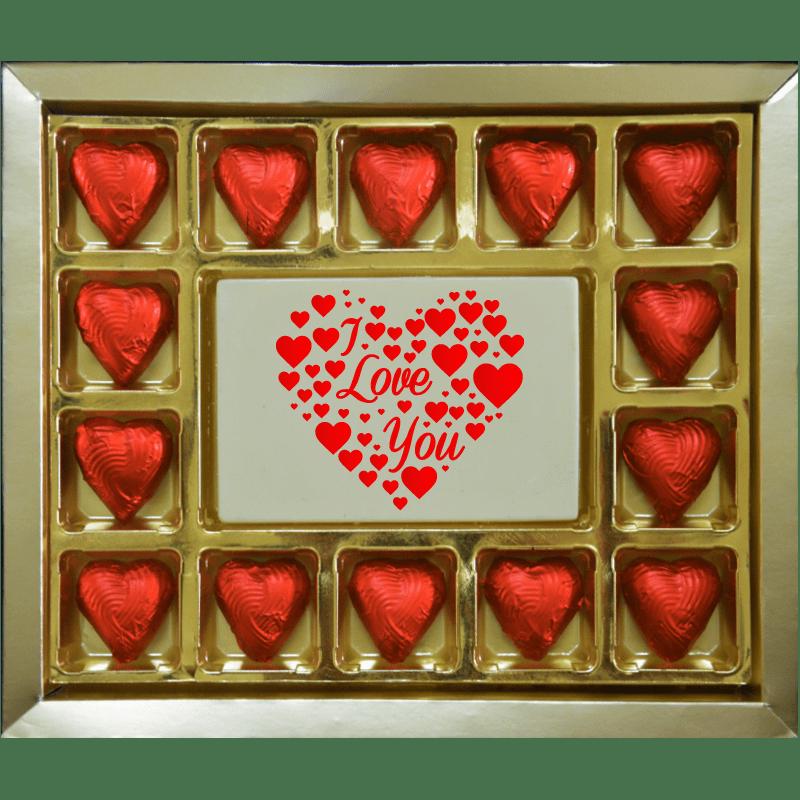 Valentine Gift - Hear I Love You Large