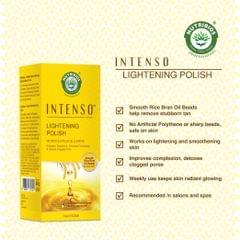Intenso Lightening Polish With Rice Bran oil seeds (Lightening Face Scrub)