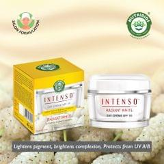 Intenso Radiant White Day Cream – 40g