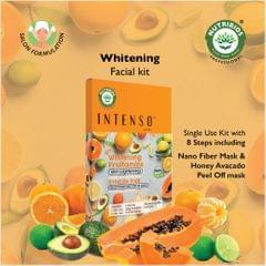 Intenso Whitening Fruitamins - Skin Lightening Facial (Single Use Kit)