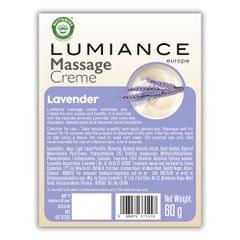 Lumiance Massage Cream (single use) with Lavender - 60g (Pack of 10)