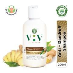 Vita Verde Anti-Dandruff Shampoo With Tibetian Ginger  - 200 ml