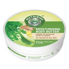 Nutribios Moisturising Body Butter (Moringa, Ginger & Green Tea) 200 gm