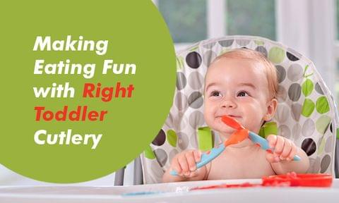 How to Choose the Right Toddler Cutlery