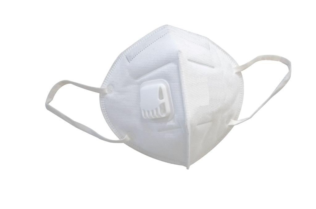 100 units of  KN95 Face Mask with valve