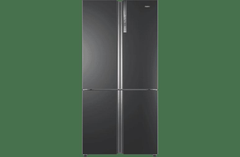 701L Quad Door Refrigerator - Dark Titanium S/S