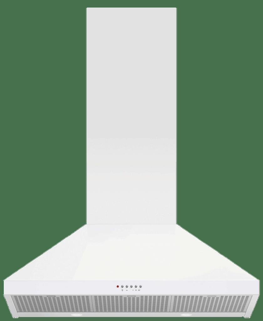 90cm Classic Canopy Rangehood White