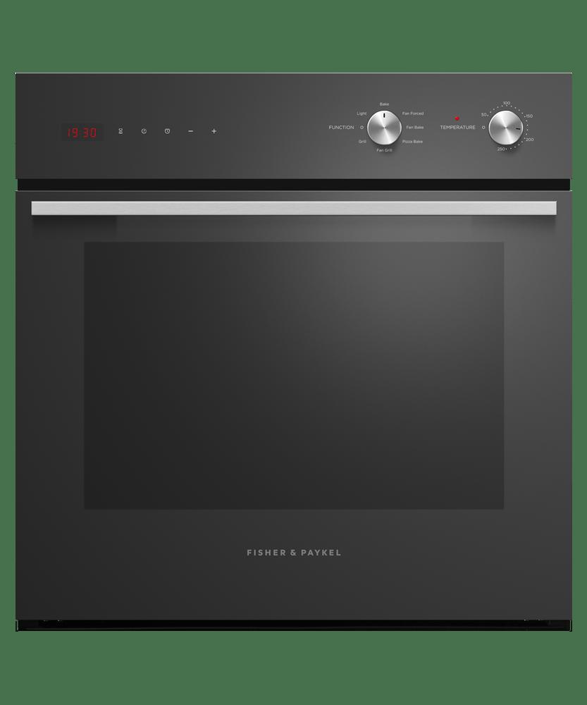 60cm Exclusive 6 Function Oven  - Black S/S