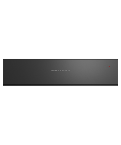 60cm Warming Drawer w/ Foodsafe - Black