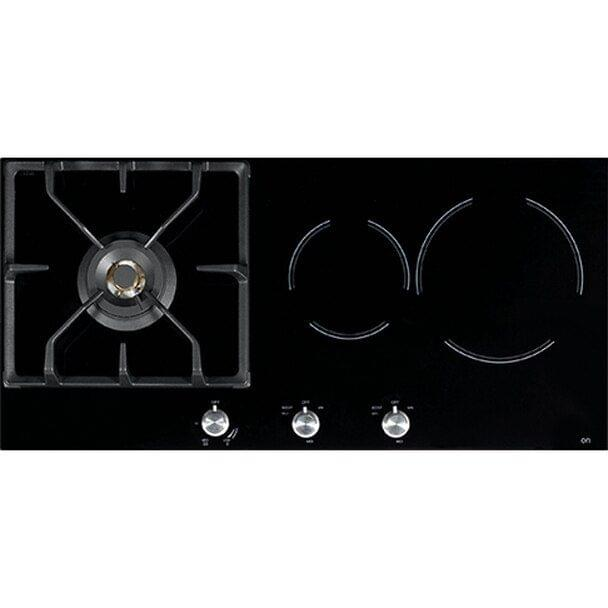 85cm Glass 1 Burner LPG + Induction Cooktop