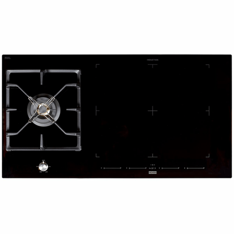96cm Induction Cooktop w/ Gas Wok Burner LPG