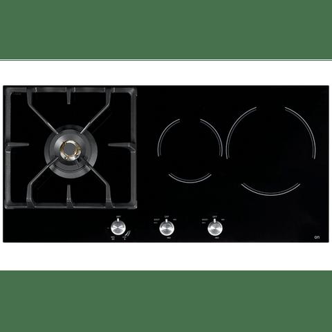85cm Glass 1 Burner NG + Induction Cooktop
