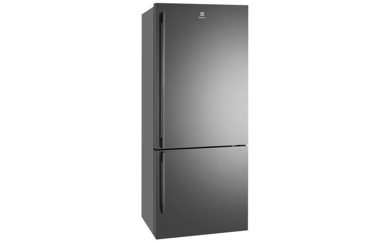 453L Bottom Mount Fridge LHH - Natural S/S