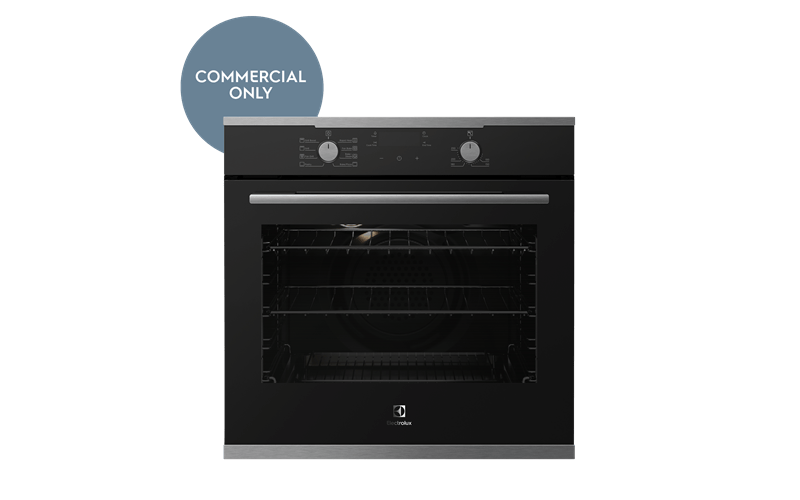 60cm Electric Oven w/ 8 Functions + Steam - S/S