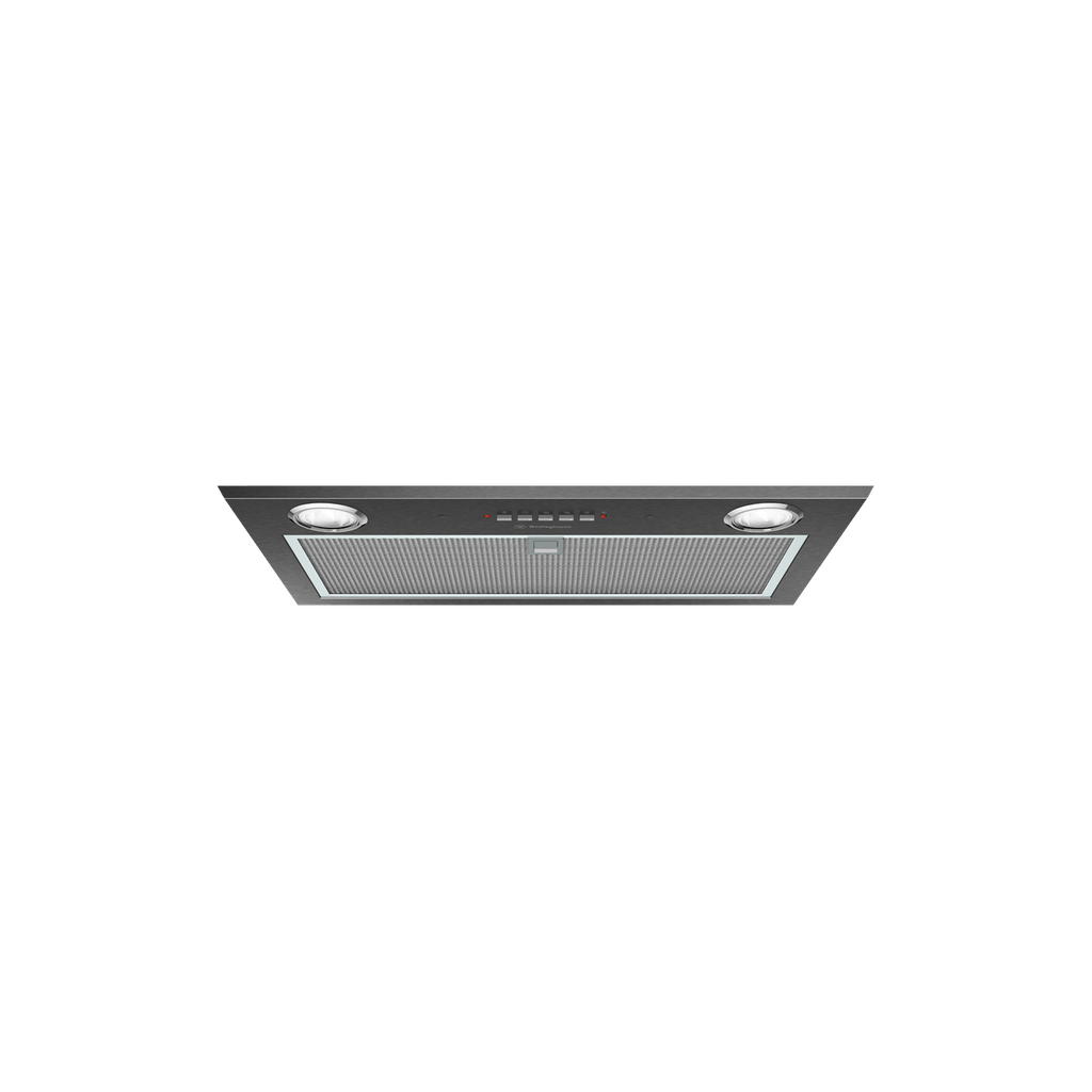 52cm Integrated Rangehood Dark S/S