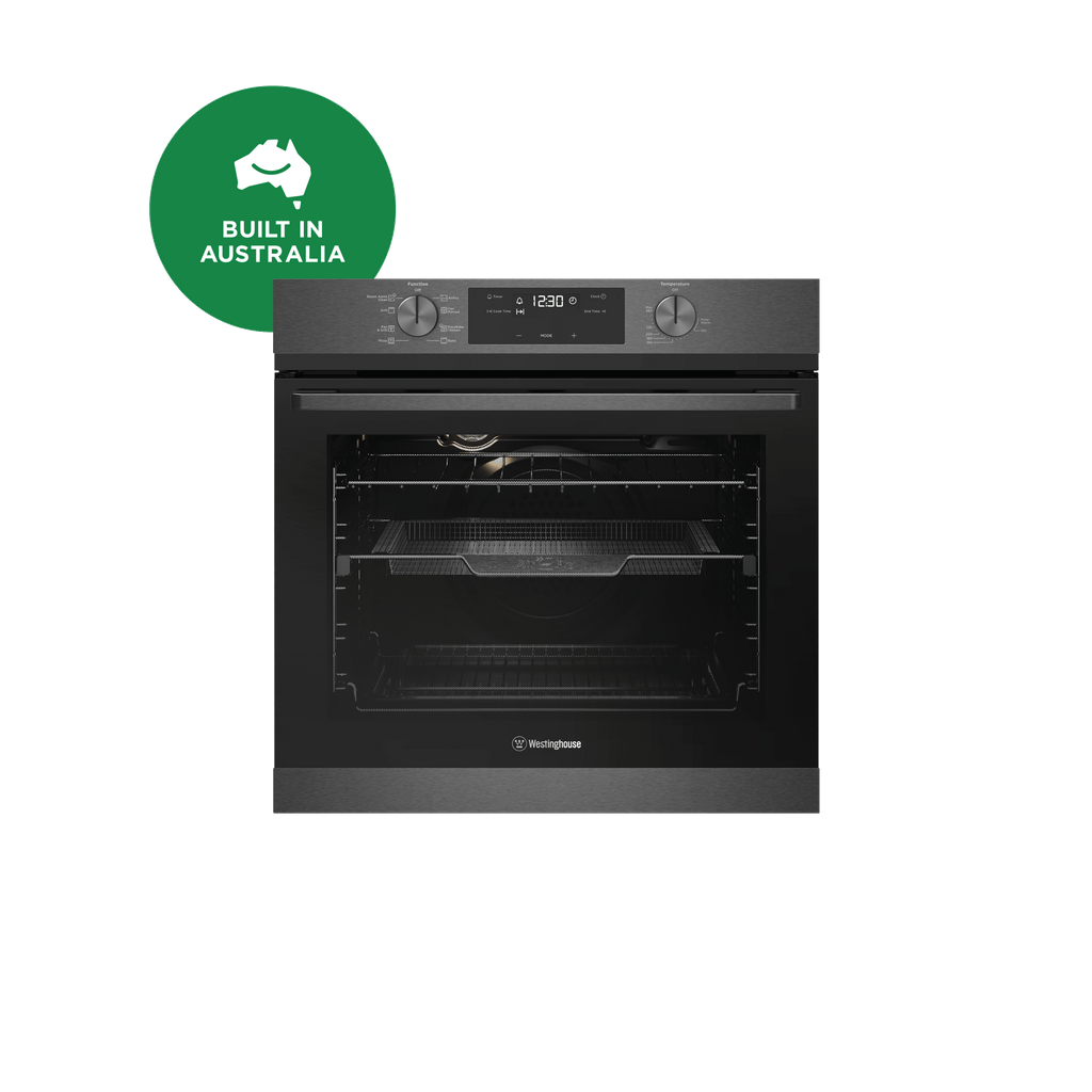 60cm Electric Oven 8 Multi-Function AirFry Dark S/S