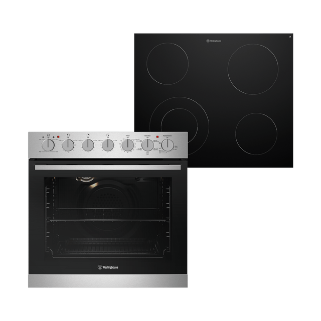 60cm Combination Oven & Ceramic Cooktop