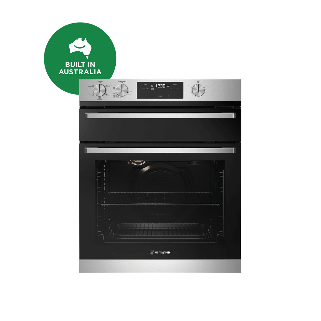 60cm Underbench Oven Separate Grill 5 Function S/S