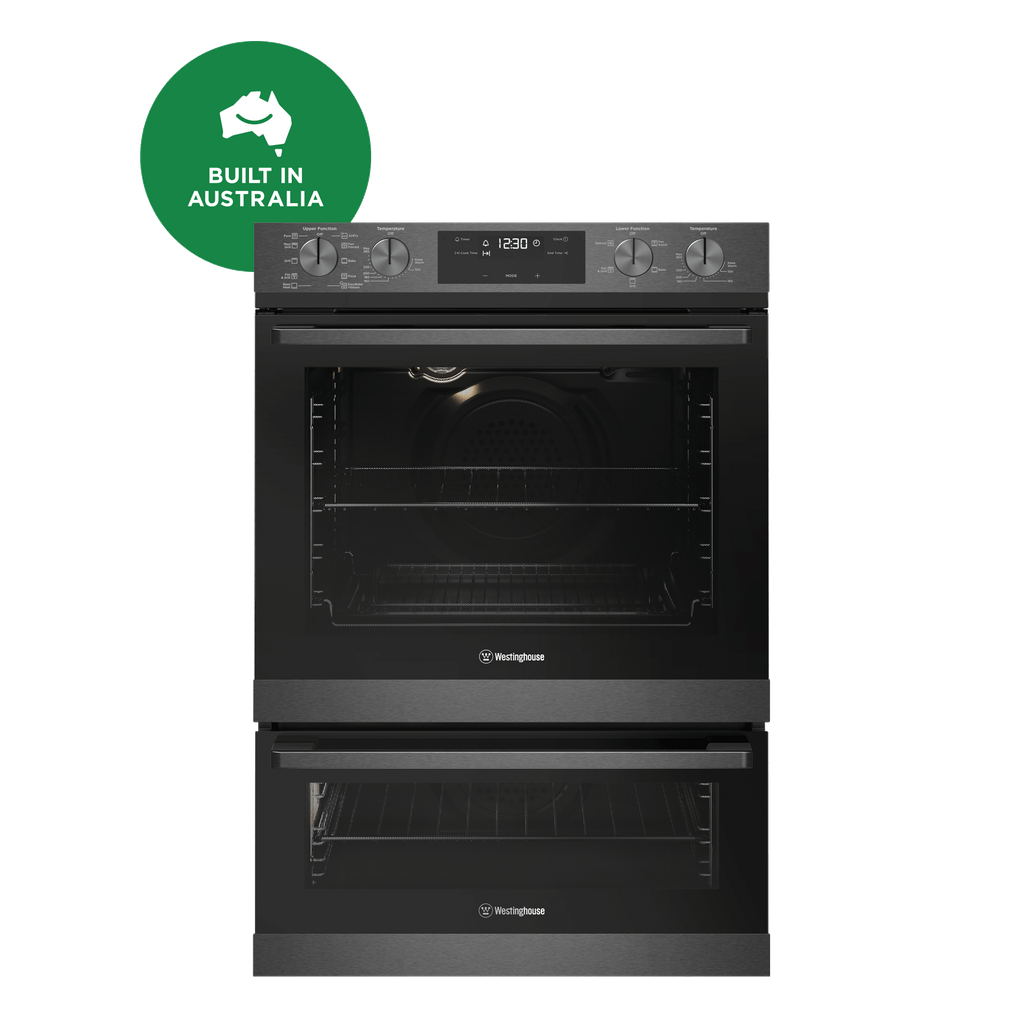 60cm Pyrolytic Duo Electric Steam Oven Dark S/S