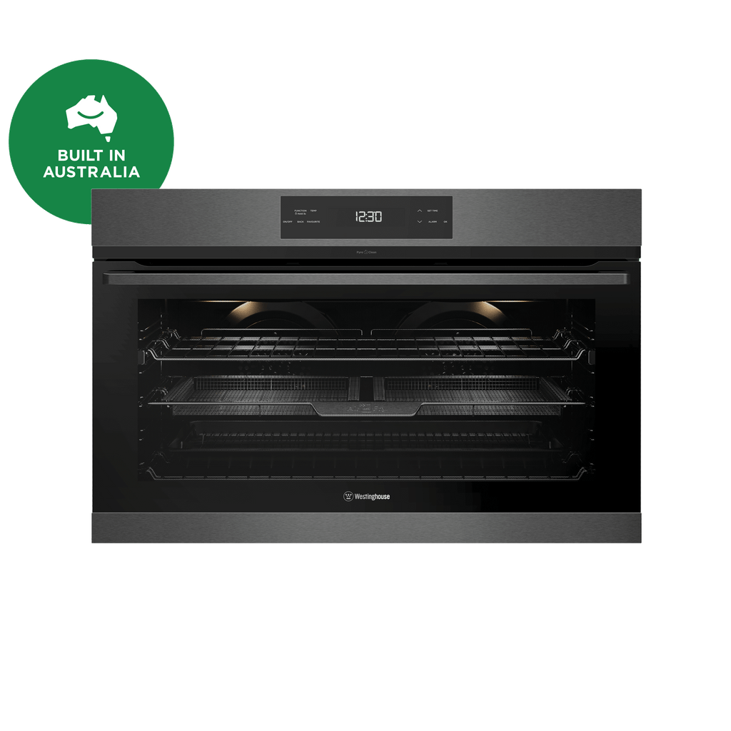 90cm Pyrolytic Multi-Function Electric Oven Dark S/S