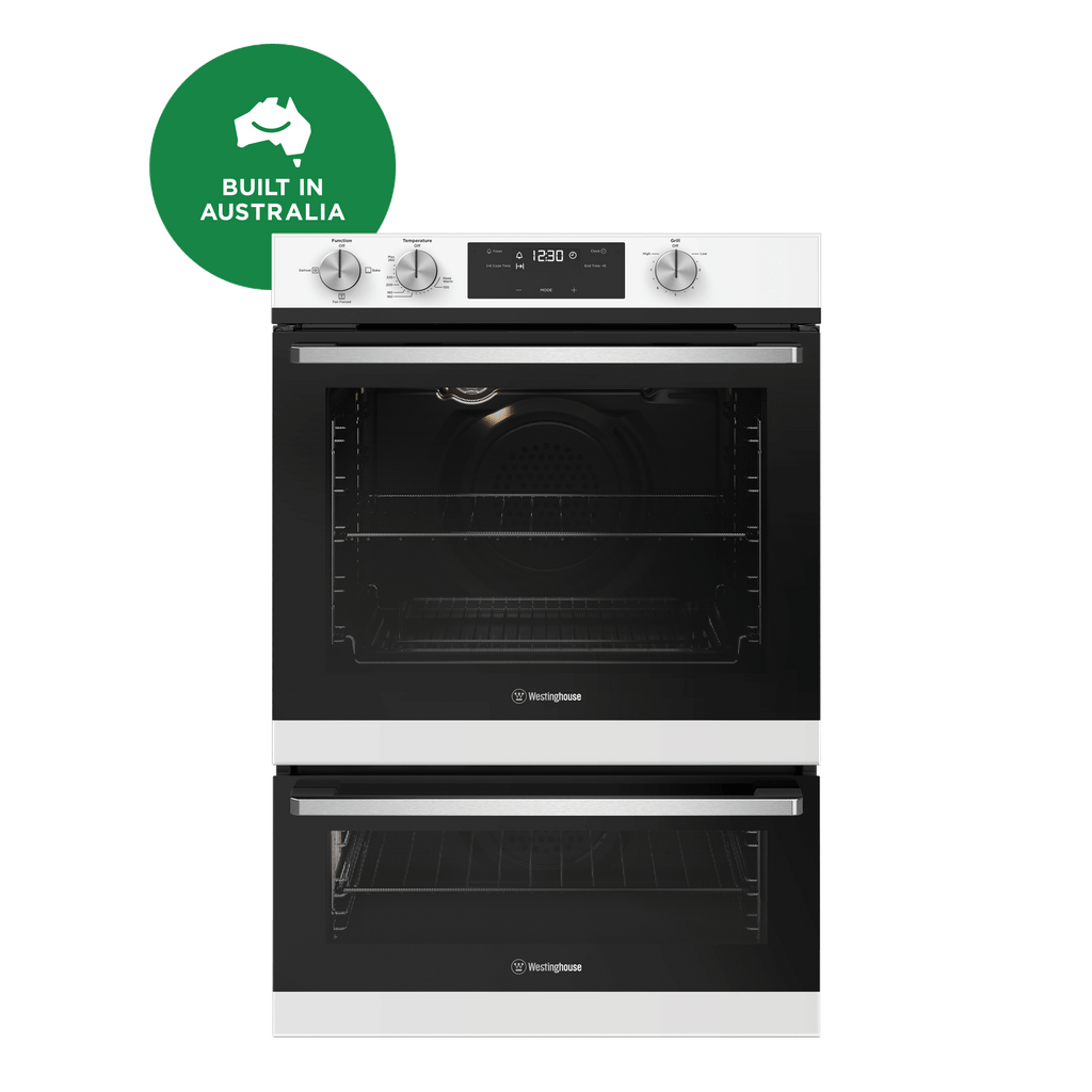 60cm 3 Multi-Function LPG Gas Oven - White