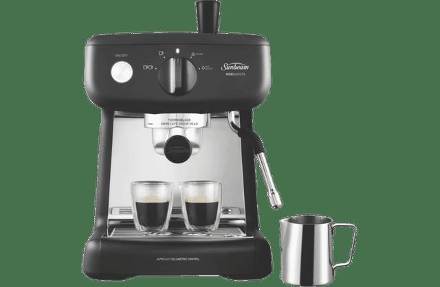 Mini Barista Espresso Coffee Machine - Black