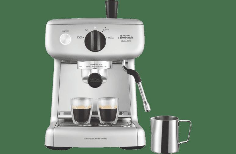 Mini Barista Espresso Coffee Machine - Silver