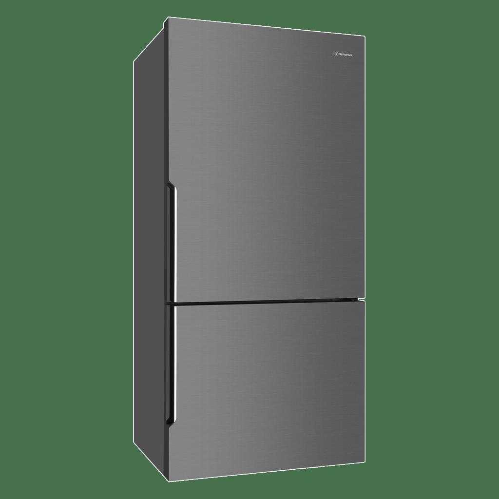 528L Bottom Mount Fridge LHH - Dark Stainless Steel