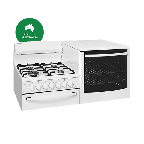Freestanding Cooker Set Sep Grill Left Oven NG