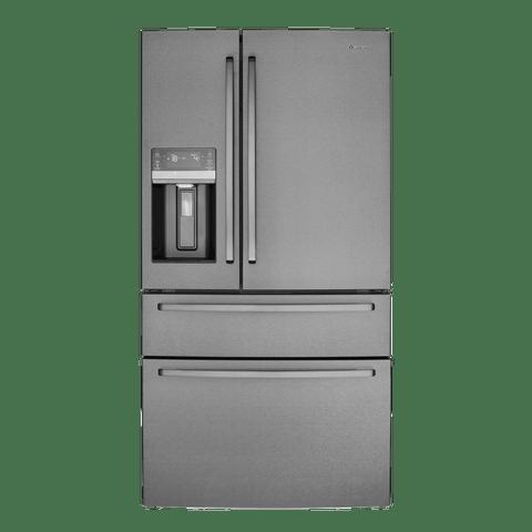 681L French Door Fridge w/ Ice & Water - Dark S/S