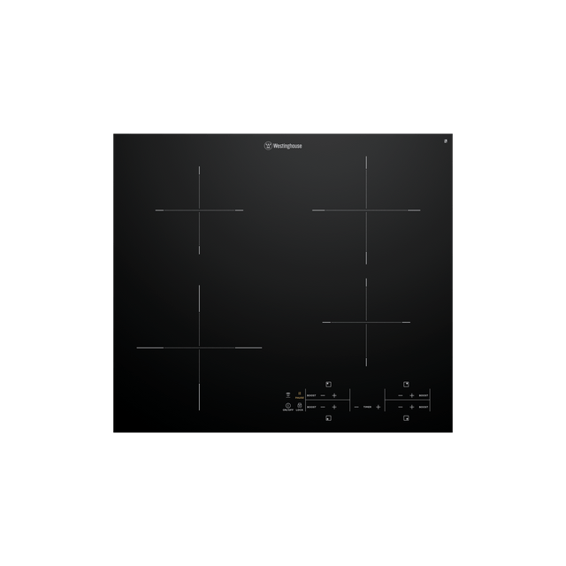4 Zone Ceramic Induction C/top w Touch Control