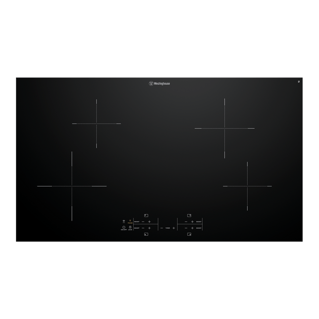 90cm Induction Cooktop 4 Zone Touch Controls
