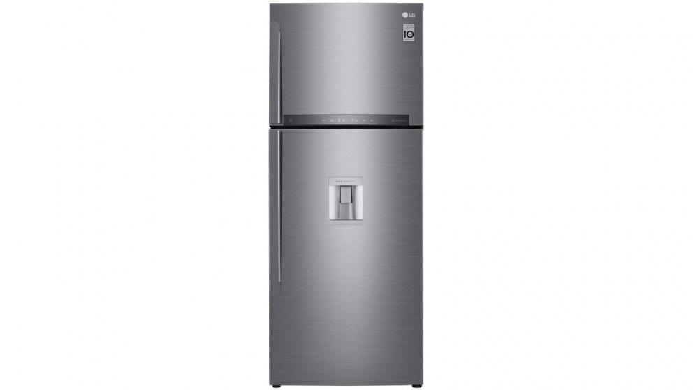 471L Top Mount Fridge w/ Auto Ice Maker - Stainless Steel