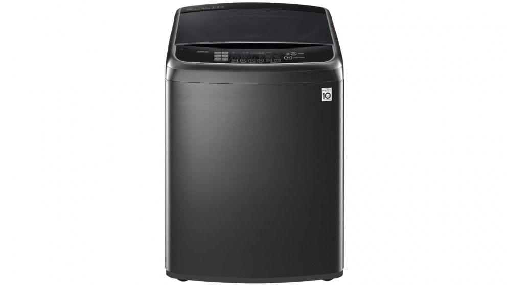 14kg Top Load Washing Machine Blk Stainless