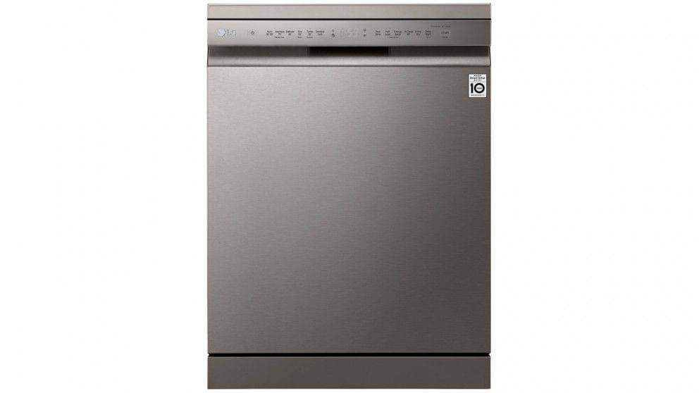60cm Freestanding Dishwasher w/ 15 Place Settings - Platinum Steel