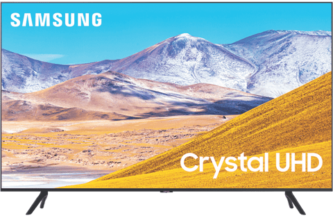 "55"" TU8000 Crystal 4K UHD LED LCD Smart TV 2020"